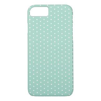 Sea Glass Green Polka Dot iPhone 7 iPhone 7 Case