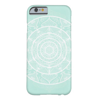 Sea Glass Mandala Barely There iPhone 6 Case