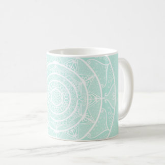 Sea Glass Mandala Coffee Mug