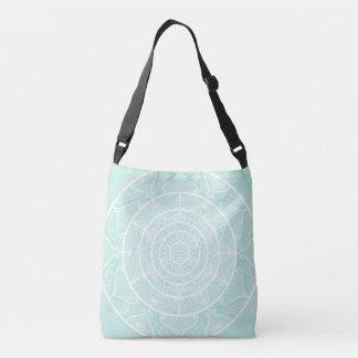Sea Glass Mandala Crossbody Bag