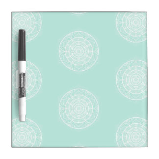 Sea Glass Mandala Dry Erase Board