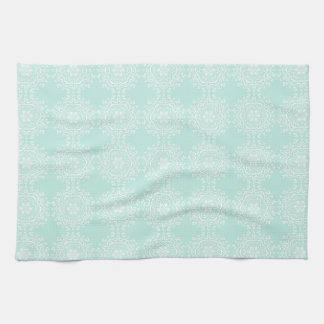 Sea Glass Mandala Kitchen Towel