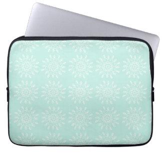 Sea Glass Mandala Laptop Sleeve