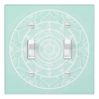 Sea Glass Mandala Light Switch Cover