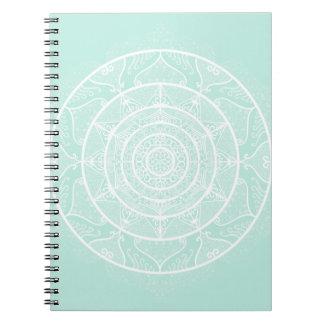 Sea Glass Mandala Notebook