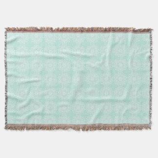 Sea Glass Mandala Throw Blanket