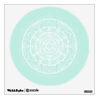 Sea Glass Mandala Wall Sticker