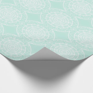 Sea Glass Mandala Wrapping Paper