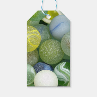 Sea Glass Marbles Pack Of Gift Tags
