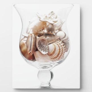Sea glass plaque