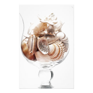 Sea glass stationery