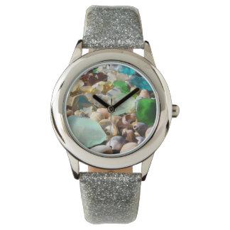 Sea Glass watches Shells Agates Beach Coast gifts
