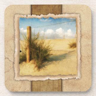 Sea Grass Vintage Coaster