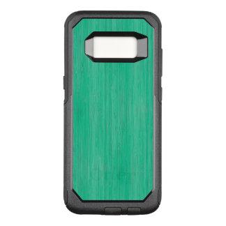Sea Green Bamboo Wood Grain Look OtterBox Commuter Samsung Galaxy S8 Case
