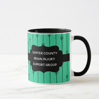 Sea Green Custom Brain Injury Support Group Mug