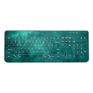 Sea Green Custom Wireless Keyboard