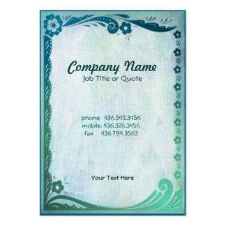 Sea Green Fantasy Business Card Templates