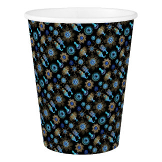 Sea Green Siphonophorae Paper Cup