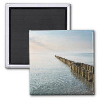 Sea Groynes Magnet