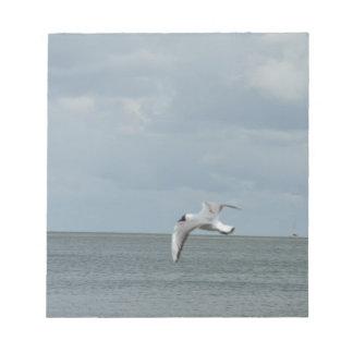 Sea gull notepad