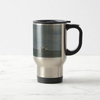 Sea gull travel mug