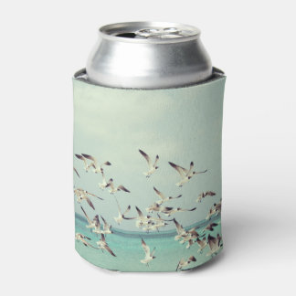 Sea Gulls In Flight Can Cooler