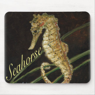 """Sea Horse"" Art Mouse Pad"