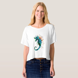 Sea horse Art Women's Top T-Shirt