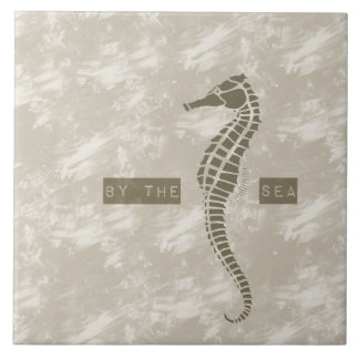 Sea Horse By the Sea Tile