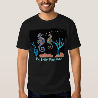 Sea Horse Coral Reef Shirts