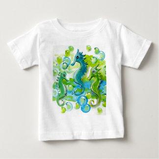 Sea Horse Design Baby T-Shirt