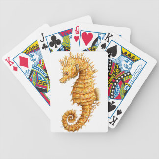 Sea horse Hippocampus hippocampus Bicycle Playing Cards