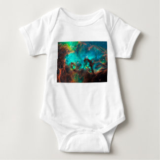 Sea Horse Nebula Baby Bodysuit