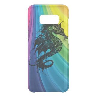 Sea Horse on Rainbow Uncommon Samsung Galaxy S8 Case