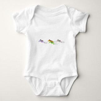 Sea Horse Race Baby Bodysuit