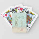 Sea Horse Scene Bicycle Playing Cards