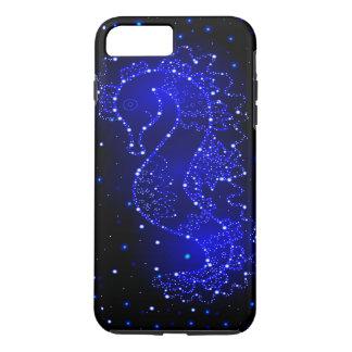 sea horse swims in lights iPhone 8 plus/7 plus case