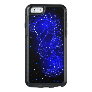 sea horse swims in lights OtterBox iPhone 6/6s case