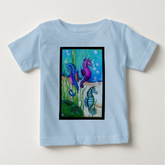 Sea Horses Collection Baby T-Shirt