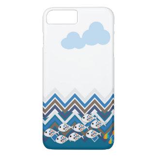 Sea in a line iPhone 7 plus case
