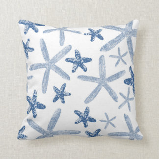 Sea-ing Stars accent pillow - blue
