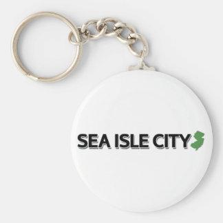 Sea Isle City, New Jersey Keychain