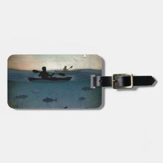 Sea Kayaking Luggage Tag
