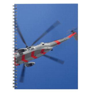 sea king notebooks