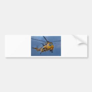 Sea King Rescue Helicopter Bumper Sticker