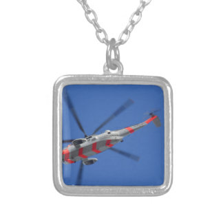 sea king silver plated necklace