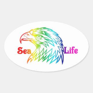 Sea Life Bald Eagle Sticker