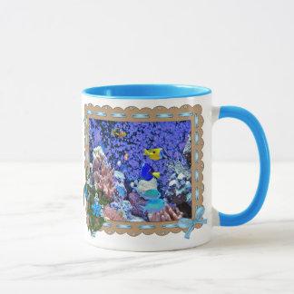 Sea life fish coffee mug