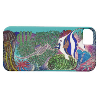 Sea Life in the Reef Design iPhone 5 Cases