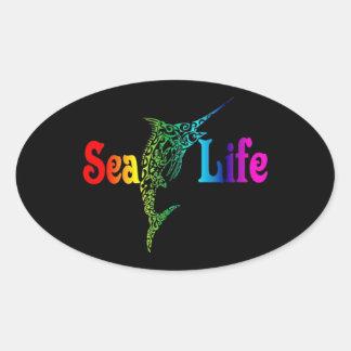 Sea Life Marlin Sticker